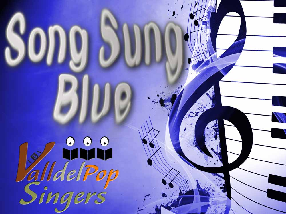 Song Sung Blue Graphic Design